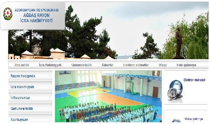Ağdaş Rayon İcra Hakimiyyəti www.agdash-ih.gov.az domen adlı İnternet saytının monitorinqinin yekunu /İCMAL/