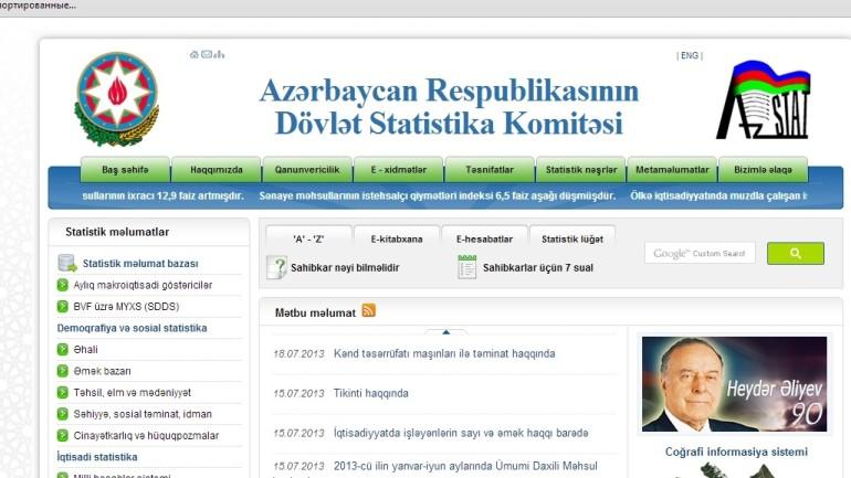 Dövlət Statistika Komitəsinin www.stat.gov.az domen adlı İnternet saytının fəaliyyətinin təkmilləşdirilməsi ilə bağlı TÖVSİYƏLƏR