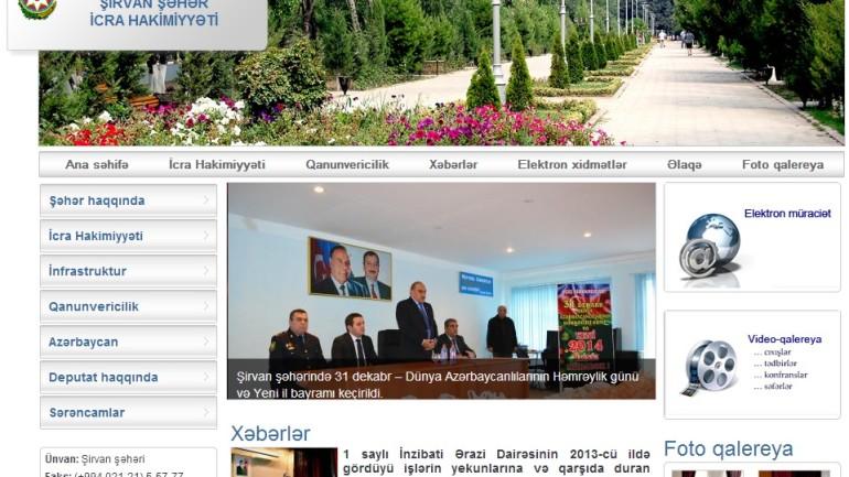 Şirvan Şəhər İcra Hakimiyyəti www.shirvan-ih.gov.az  domen adlı İnternet saytının monitorinqinin yekunu   /İCMAL/