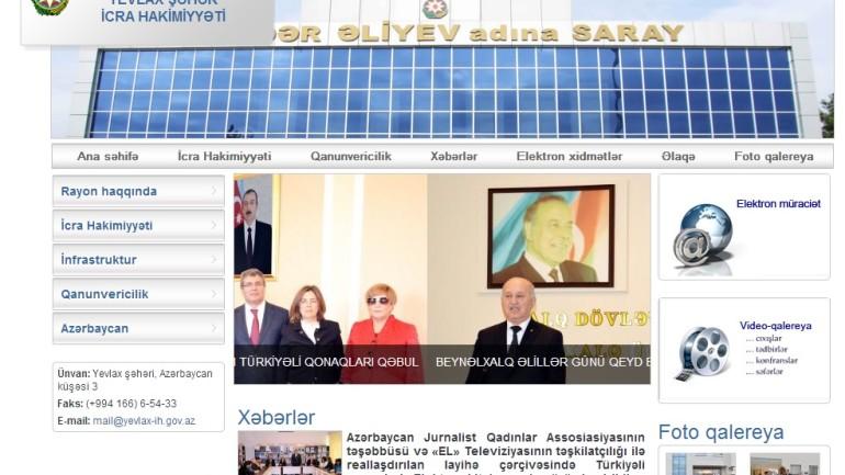 Yevlax Rayon İcra Hakimiyyəti www.yevlax-ih.gov.az  domen adlı İnternet saytının monitorinqinin yekunu   /İCMAL/