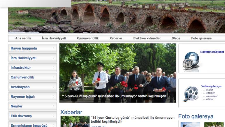 Cəbrayıl Rayon İcra Hakimiyyəti www.cebrail-ih.gov.az domen adlı İnternet saytının monitorinqinin yekunu /İCMAL/
