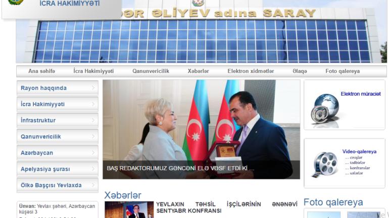 Yevlax Şəhəri İcra Hakimiyyəti www.yevlax-ih.gov.az domen adlı İnternet saytının monitorinqinin yekunu /İCMAL/