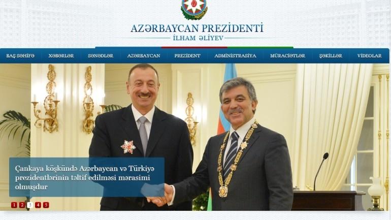 Azərbaycan Respublikasının Prezidentinin Internet resursu:www.president.gov.az İnternet saytının monitorinqinin yekunu /İCMAL/