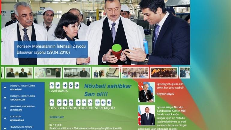 Azərbaycan Respublikası İqtisadiyyat və Sənaye Nazirliyi Sahibkarlığa Kömək Milli Fondunun:www.anfes.gov.azdomen adlı İnternet saytının monitorinqinin yekunu /İCMAL/